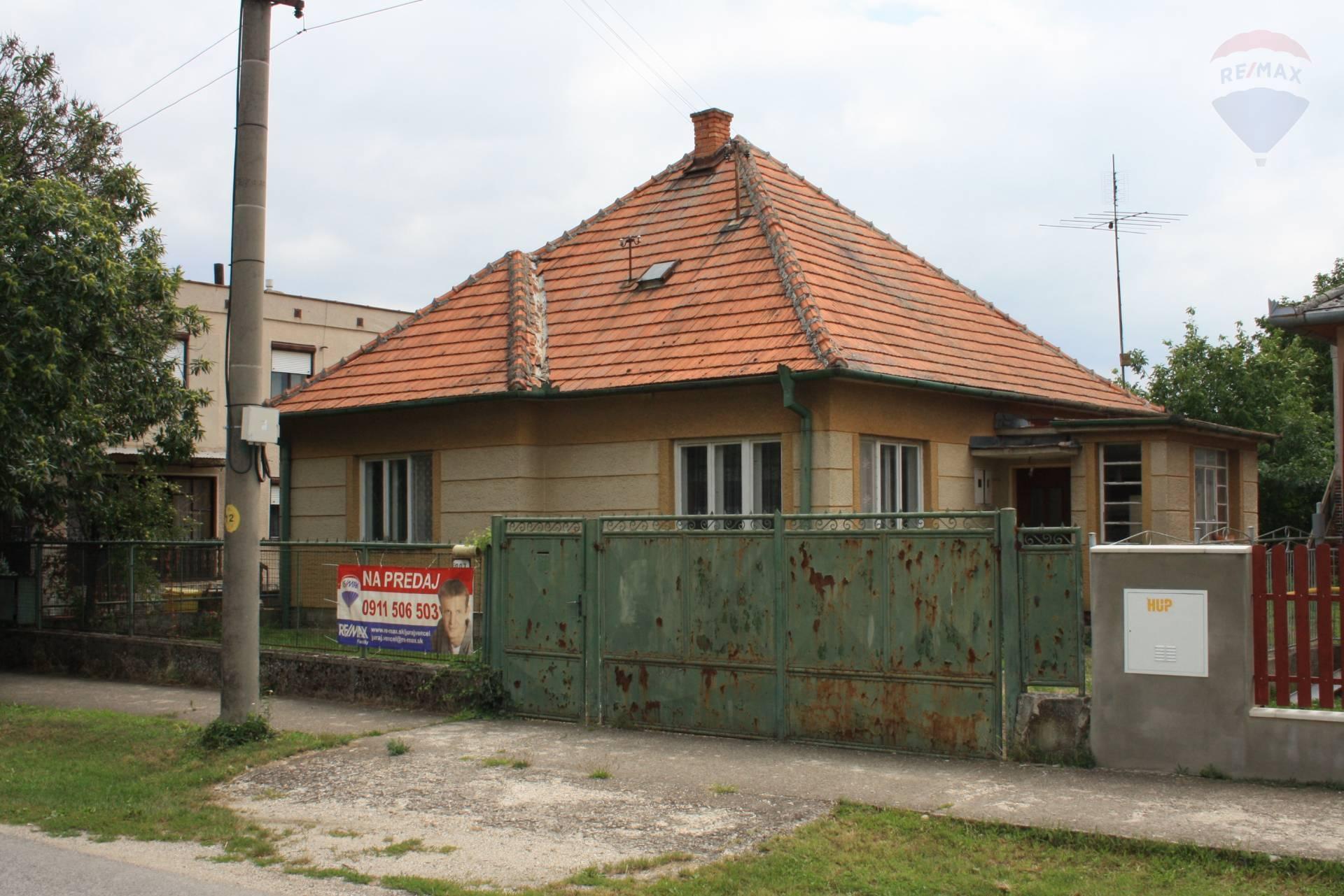 predaj rodinný dom Veľký Cetín