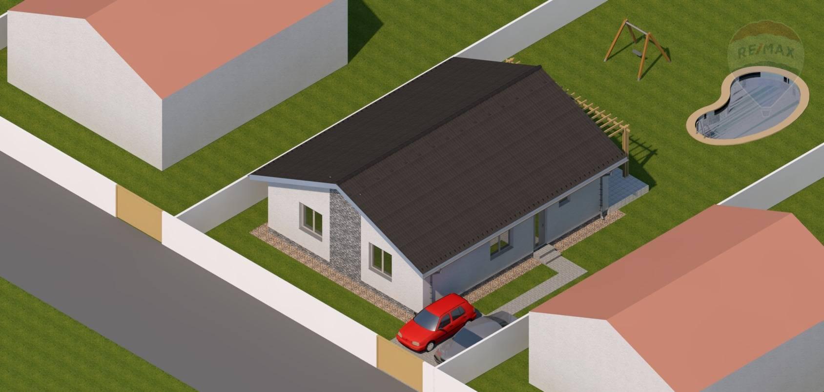 predaj rodinný dom Vráble