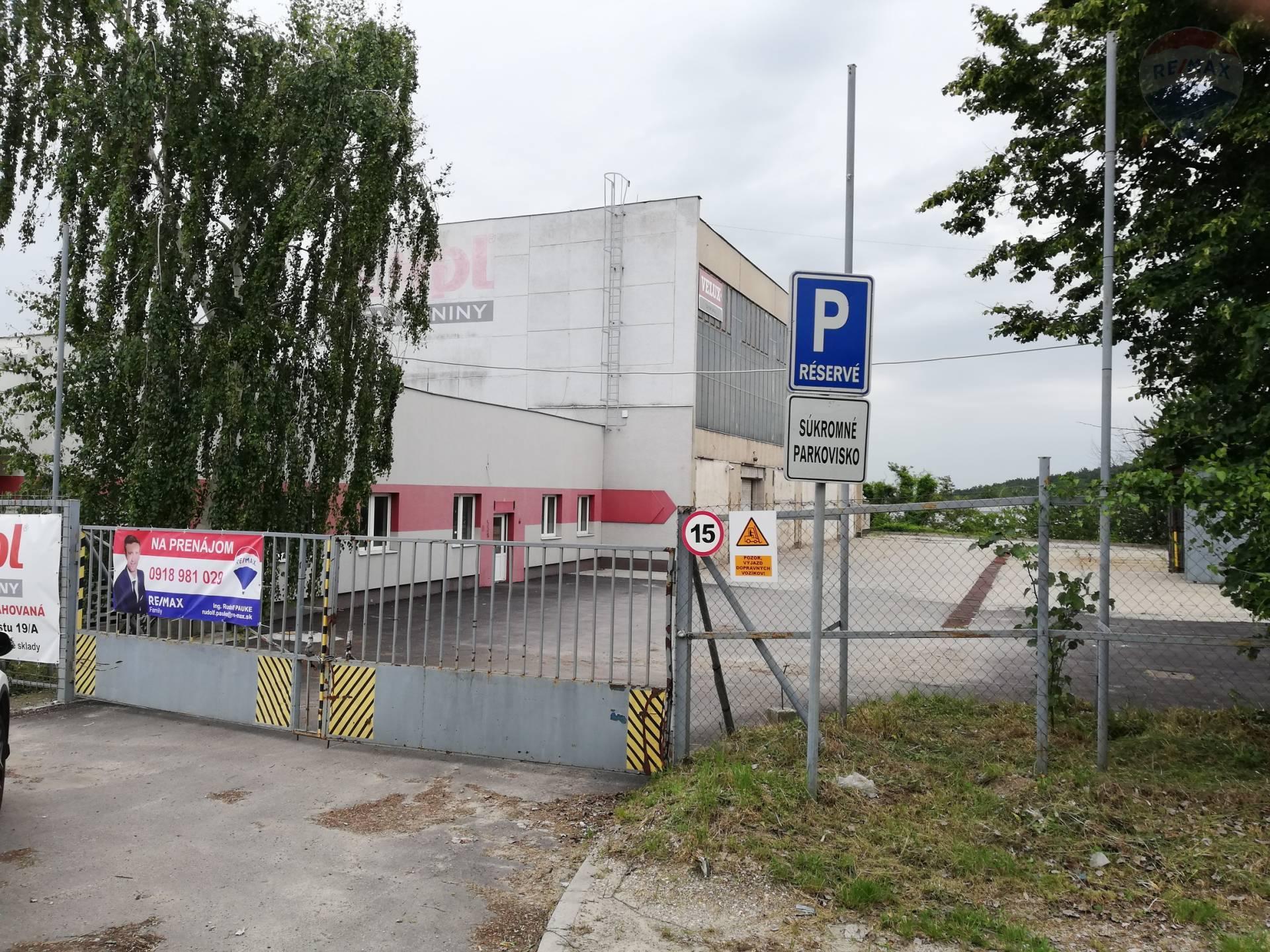 prenájom poľnohospodársky objekt Nitra, Cabajská