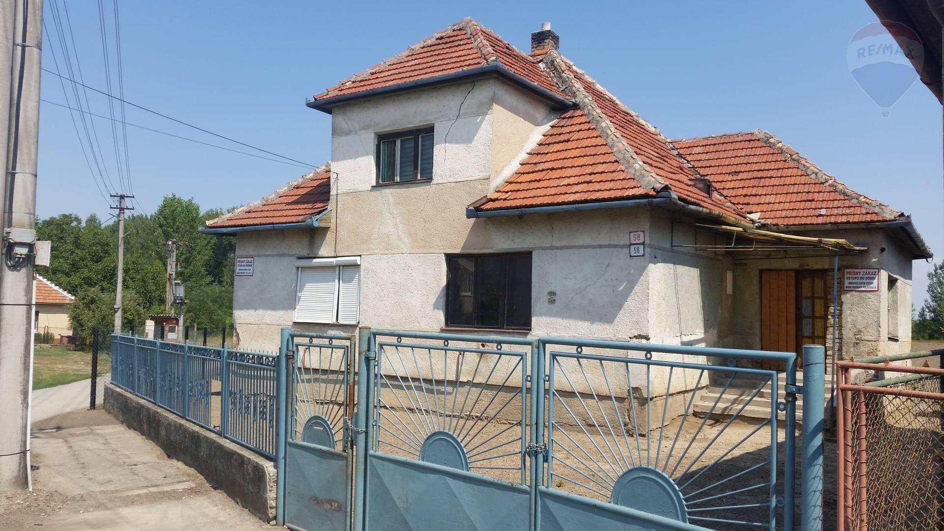 predaj rodinný dom Komjatice