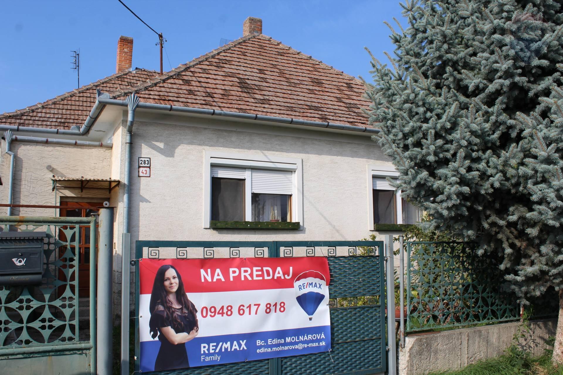predaj rodinný dom Veľké Úľany