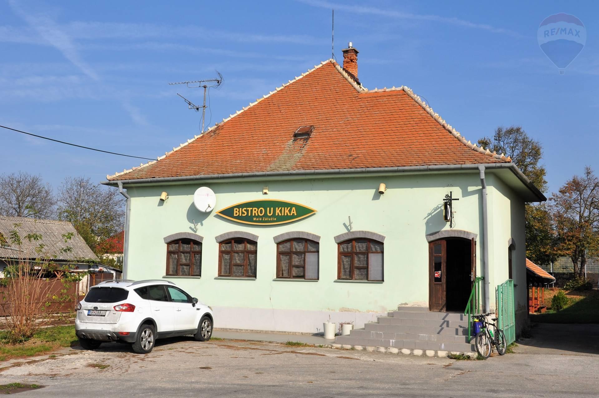 predaj reštaurácia Malé Zálužie