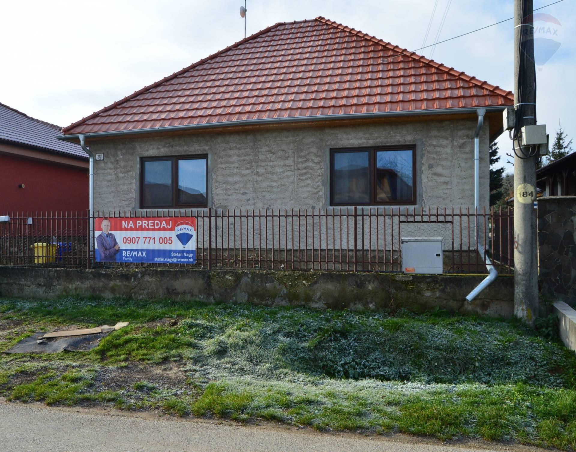 predaj rodinný dom Jelenec