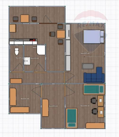 predaj 2 izbový byt Levice