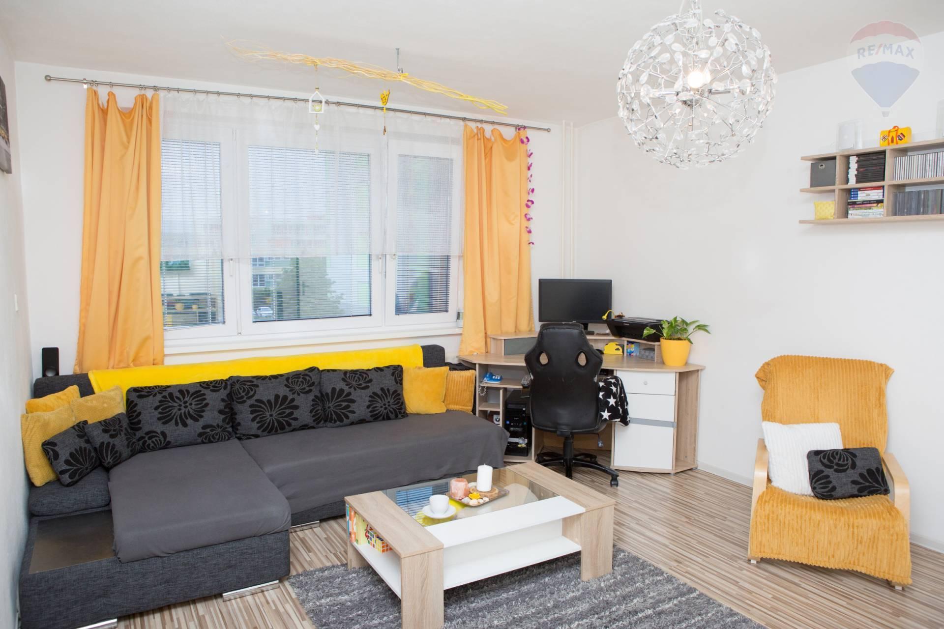 REZERVOVANÉ!! predaj 3 izbový byt Nitra, lodžia, Murániho EXKLUZÍVNE