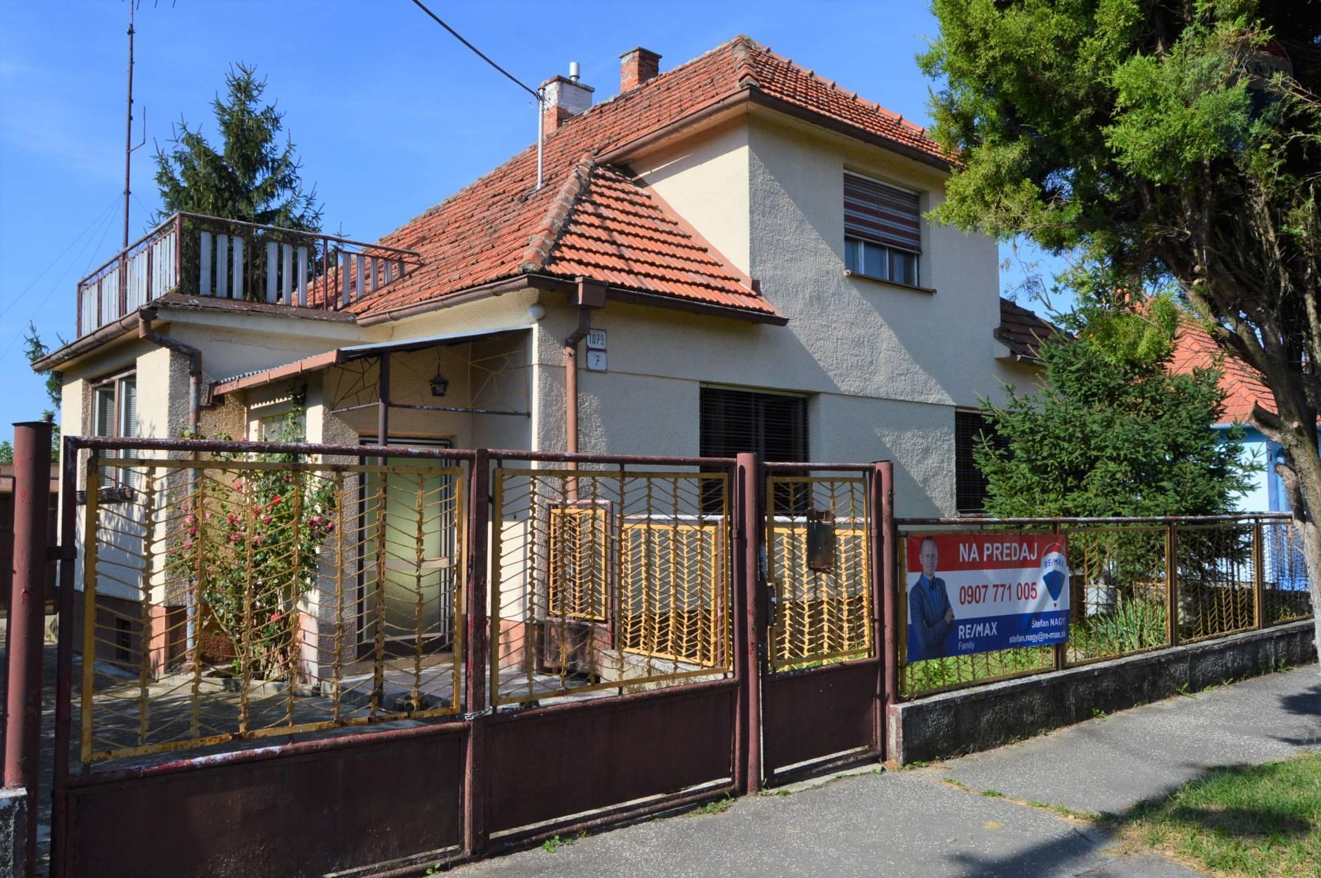 predaj rodinný dom Zlaté Moravce, Moyzesova