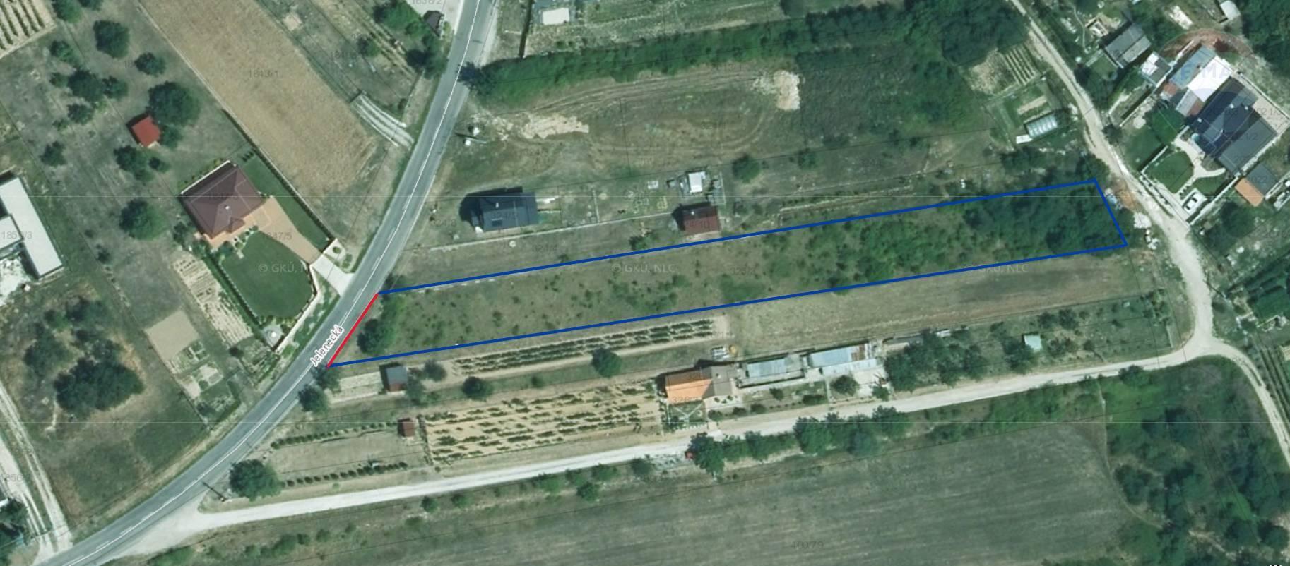 predaj stavebný pozemok Nitrianske Hrnčiarovce, Jelenecká