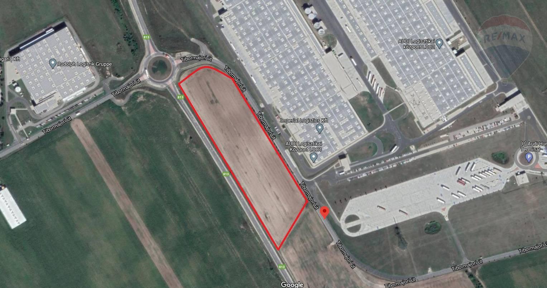 predaj pozemok na komerčnú výstavbu Győr