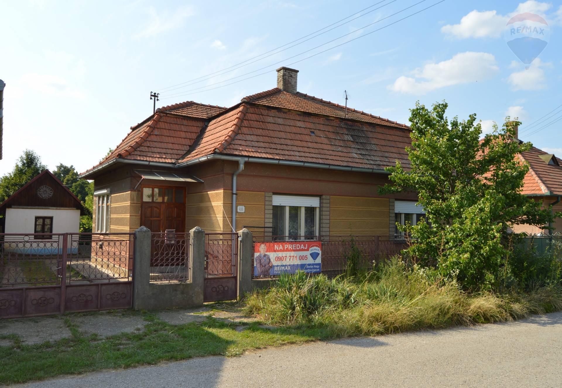 predaj rodinný dom Kamenín