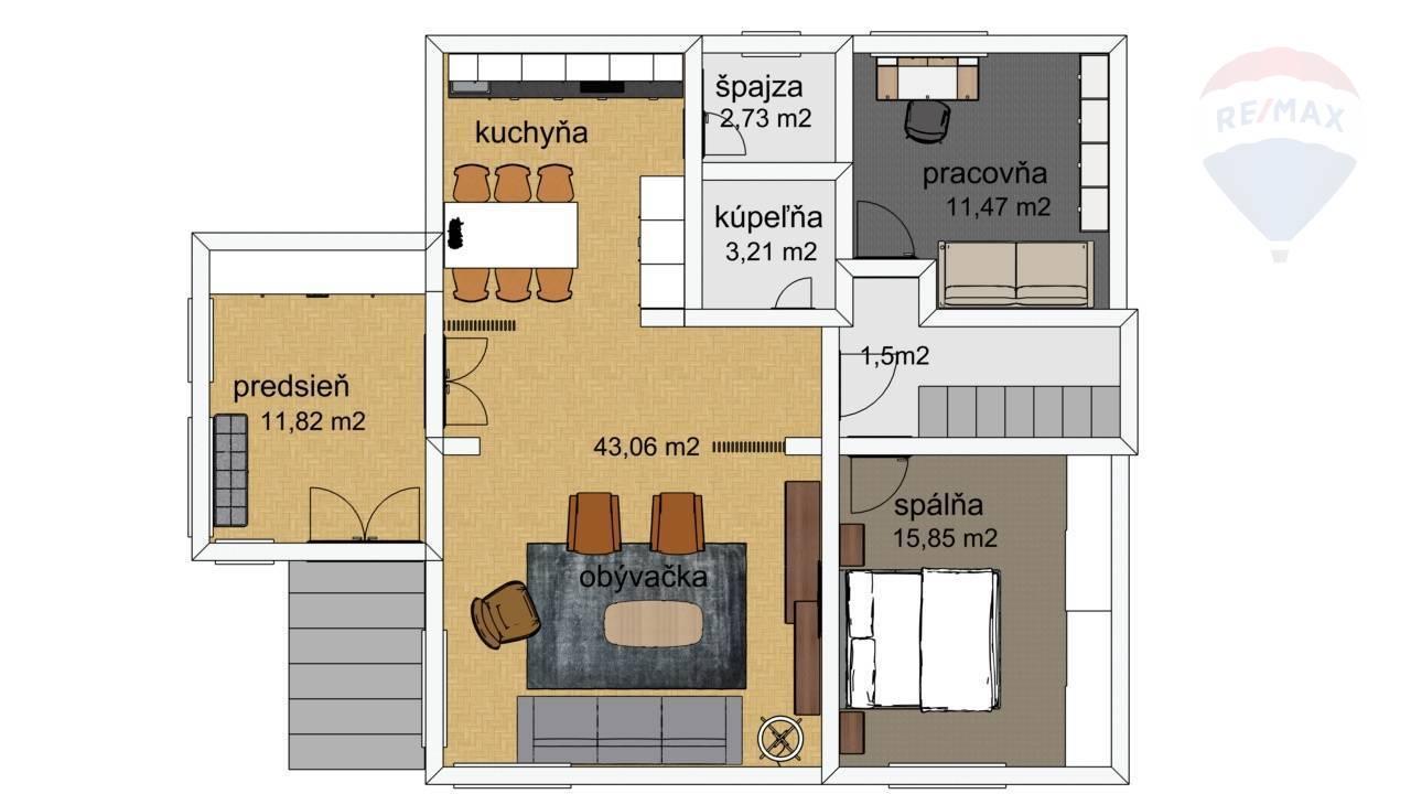 predaj rodinný dom Nitrianske Hrnčiarovce, Petöfiho